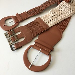 Accessories - Bundle of Fashion Belts